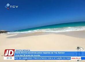 Santa Mónica escolhida pela viajantes da Trip Advisor uma das 25 melhores praias do mundo