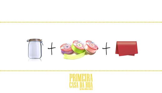 Coloque os ingredientes favoritos de quem vai receber o presente.