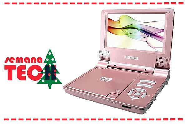 Se aquilo que mais gostas de fazer nos tempos livres é ver filmes, não podes perder este DVD Portátil da Toys r Us.
