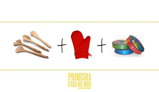 Selecione os utensílios que são elementares numa cozinha.