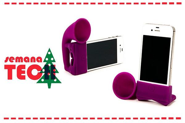 Se ainda não sabes o que pedir aos teus pais para o Natal, espreita as nossas sugestões de presentes ligadas à tecnologia.  Estas colunas para iPhone são bastante coloridas e muito cool. Da Ale Hop.