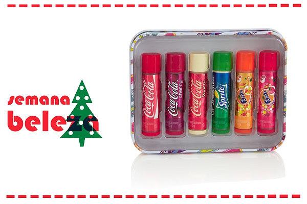 A Acessorize dispõe deste pack de 6 batons com o sabor das 6 bebidas mais deliciosas.