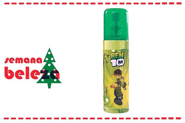 Para os meninos, o nosso conselho vai para este perfume do Ben 10, disponível na Perfumes e Companhia.