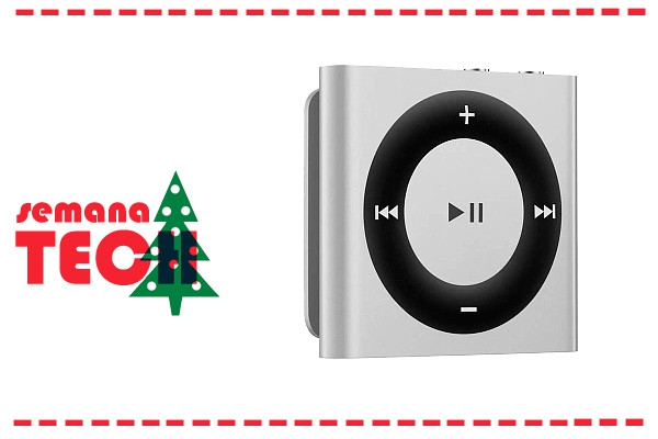 Ouve música sem parar com este iPod Shuffle na Toys r us. Um presente de Natal ideal.