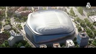O futuro estádio do Real Madrid