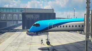 KLM apresenta projeto Flying-V