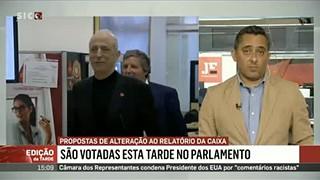 """""""Expressão 'indícios de gestão danosa' dividiu PSD dos restantes partidos"""" da CP"""