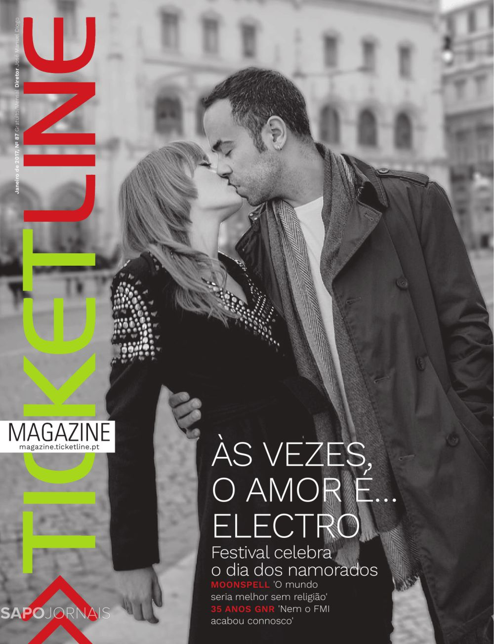 Capa da Revista Ticketline Magazine