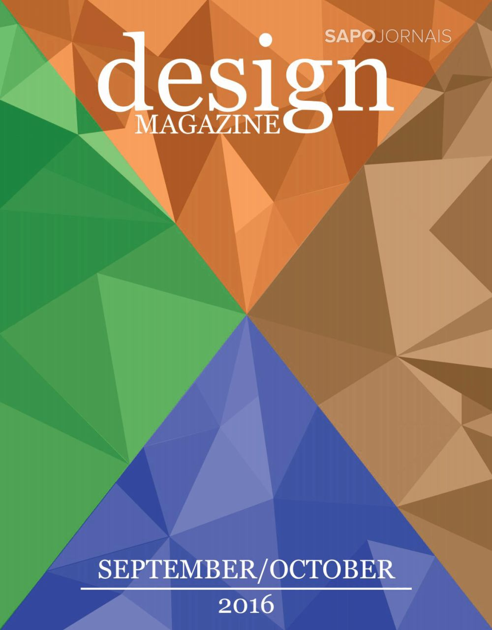 Capa da Revista Design Magazine