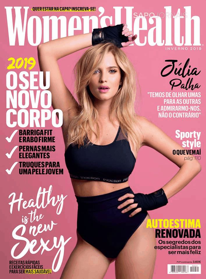 Capa da Revista Women's Health