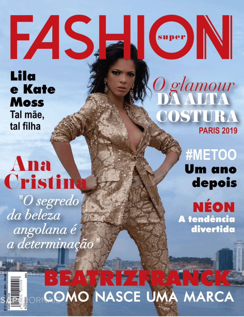 Capa do Jornal Super fashion