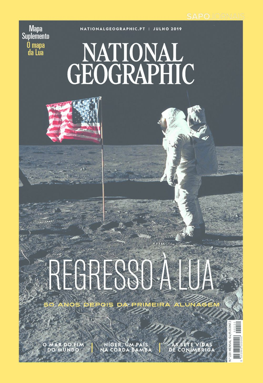 Capa da Revista National Geographic