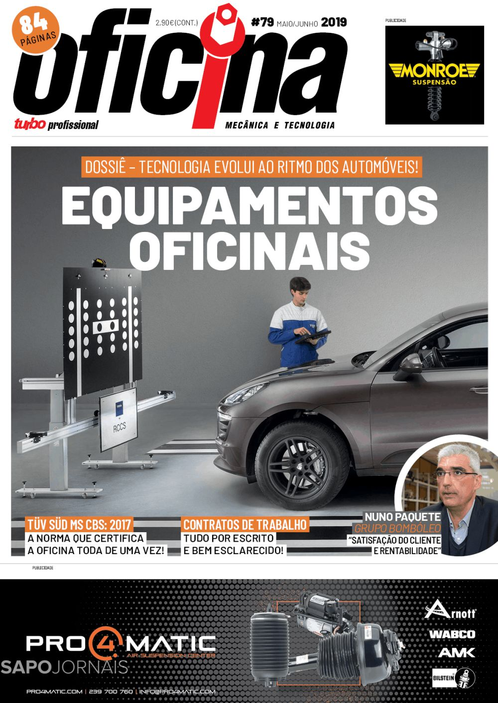Capa da Revista Turbo Oficina