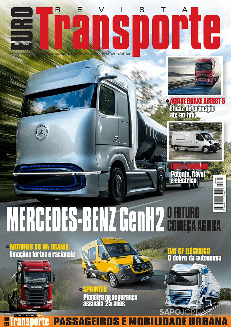 Capa da Revista Eurotransporte