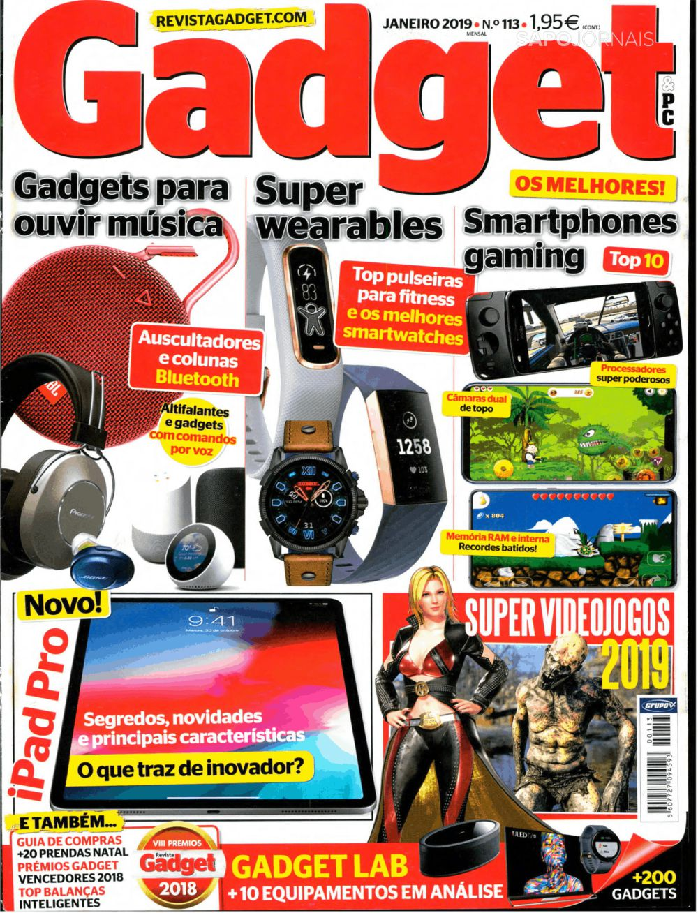Capa da Revista Gadget & PC