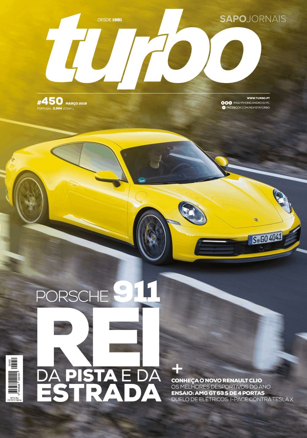 Capa da Revista Turbo