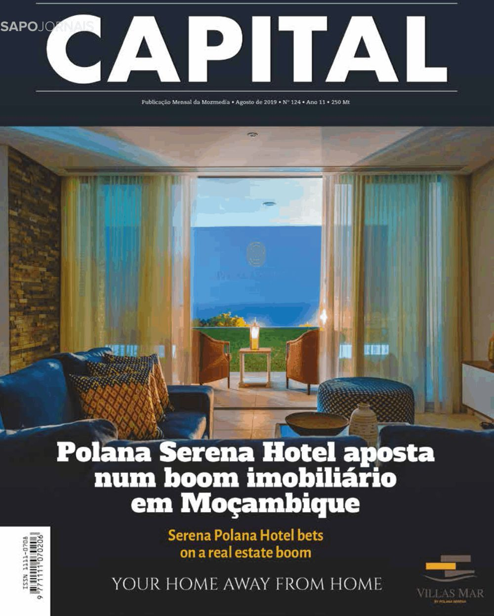 Capa do Jornal Capital Magazine