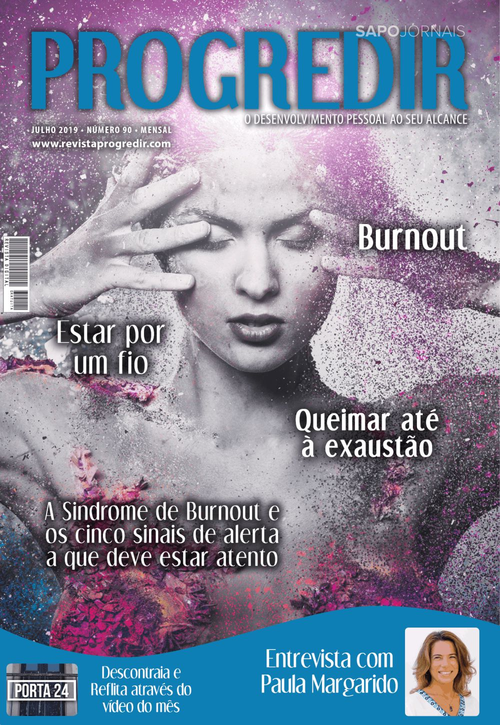 Capa da Revista Progredir