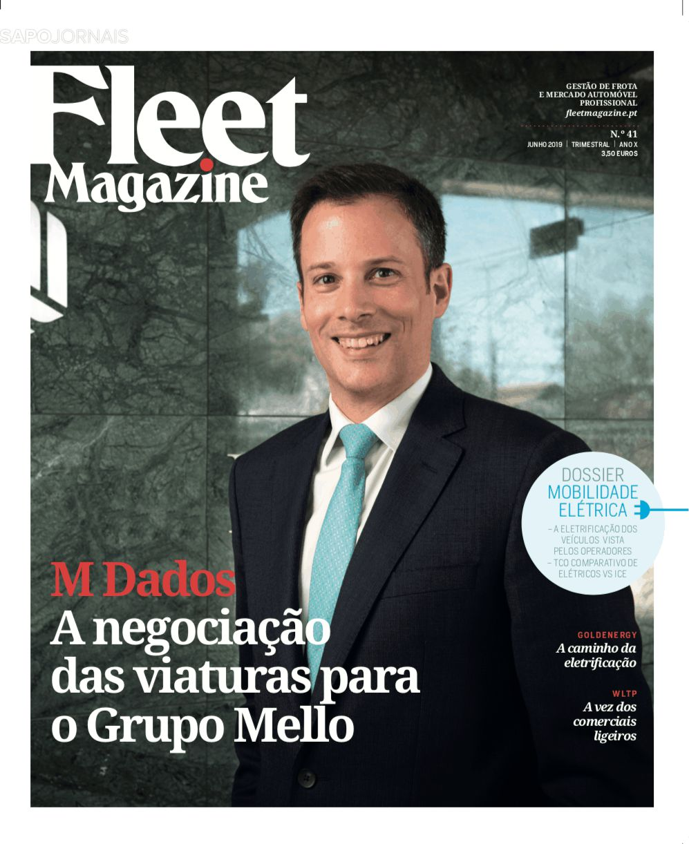 Capa da Revista Fleet Magazine