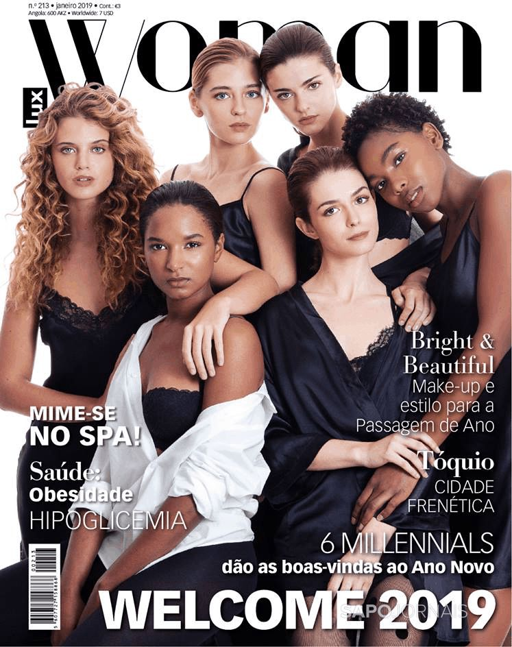 Capa da Revista Lux WOMAN