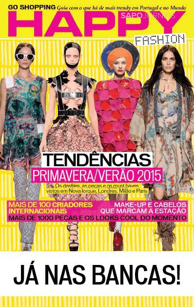 Capa da Revista Happy Woman-Fashion