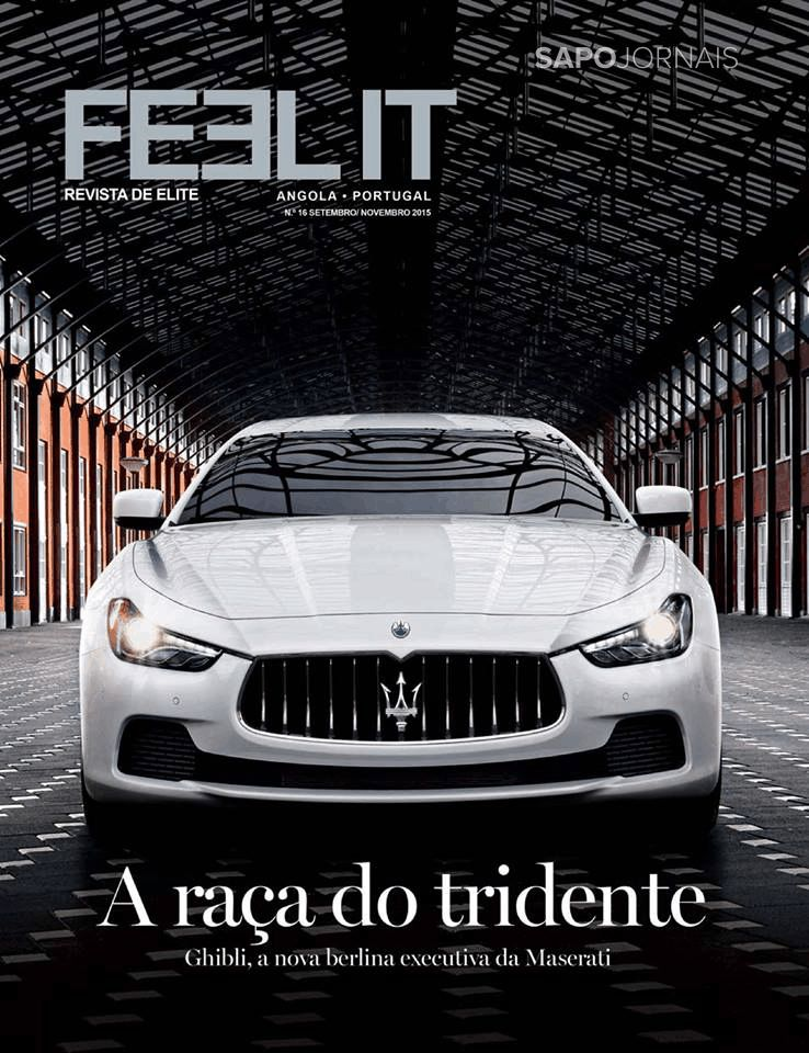 Capa da Revista FEEL IT