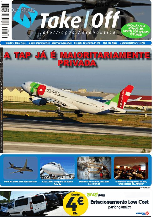 Capa da Revista Take Off