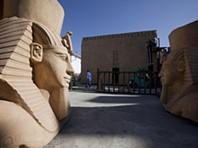 Um templo egípcio em Óbidos