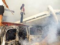 Queda de avião na Nigéria