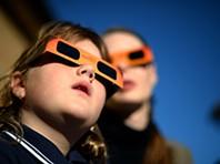 Eclipse solar parcial visto na Austrália