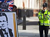 Protestos contra extradição de Assange