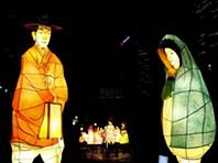 Festival das Lanternas faz brilhar Seul
