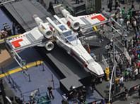 Maior réplica em Lego é uma nave espacial