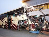 Acidente com autocarro belga na Suíça