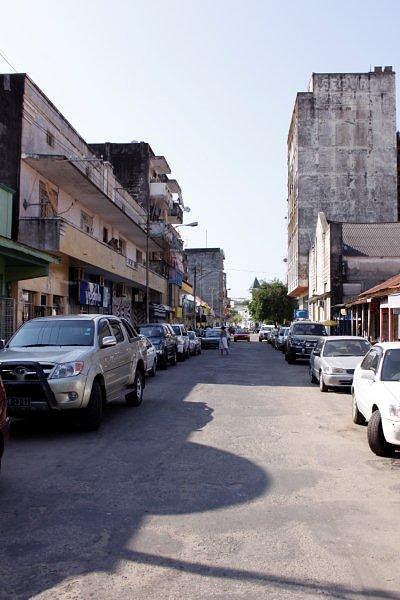 Rua do Comércio dos Indianos.