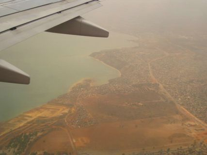 Voo Namibe a Luanda