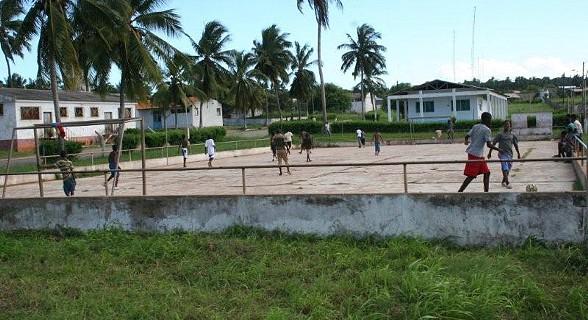 Jogo de futebol, um dos desportos mais praticados pelos jovens