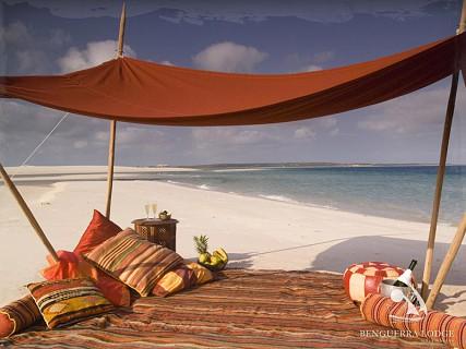 Ilha de Benguerra. Arquipélago de Bazaruto. Inhambane. Foto: Benguerra Lodge