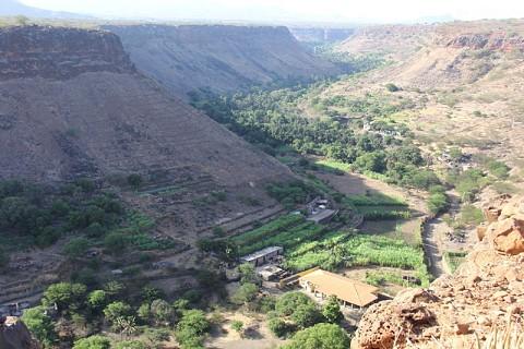 Vista para o Vale da Ribeira Grande de Santiago