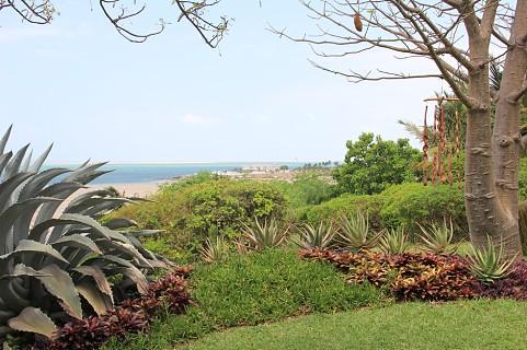 A vista na Casa Rex é sobre o arquipélago de Bazaruto (SAPO MZ/ Eliana Silva)