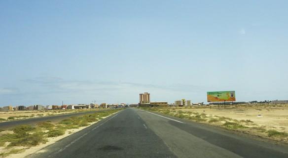 Entrada de Santa Maria, cidade mais turística da ilha