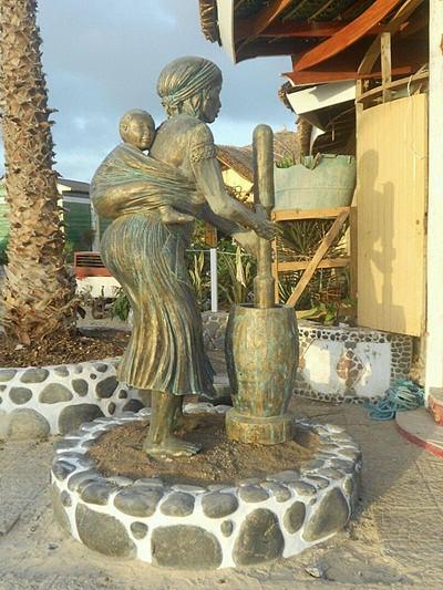 Homenagem à mulher cabo-verdiana