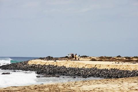 Praia de Ponta Preta. Há um tempo atrás, a praia era praticamente selvagem