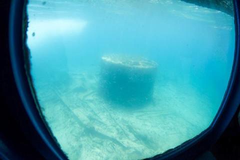 O Bolama é um barco afundado desde 1920