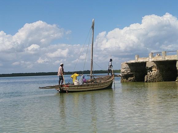 Na Ilha do Ibo a pesca é um das referências enquanto actividade económica