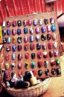 Amostras de pintura para unhas. Há opções para todos os gostos.