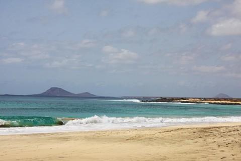 Vista da ilha a partir de Ponta Preta