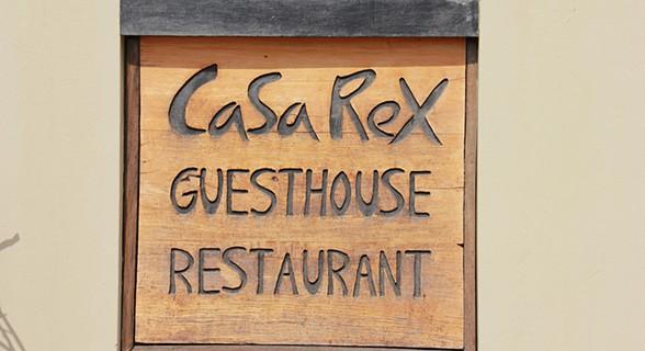 A entrada da Casa Rex (SAPO MZ/ Eliana Silva)