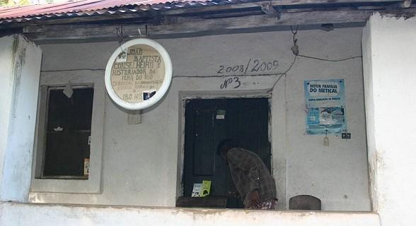 A casa de Joao Baptista, o historiador da ilha