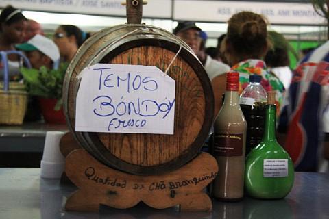 Bondoy Fresco (bebida feita a partir da cana de açucar)